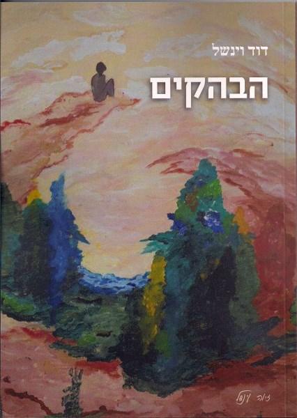 """כריכה של הספר """"הבהקים"""" מאת דוד וינשל"""