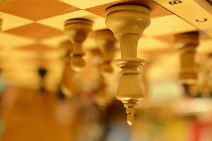 לוח שחמט, תמונה הפוכה